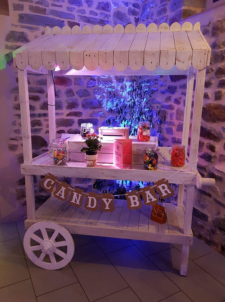 Candy bar à louer mariage rennes