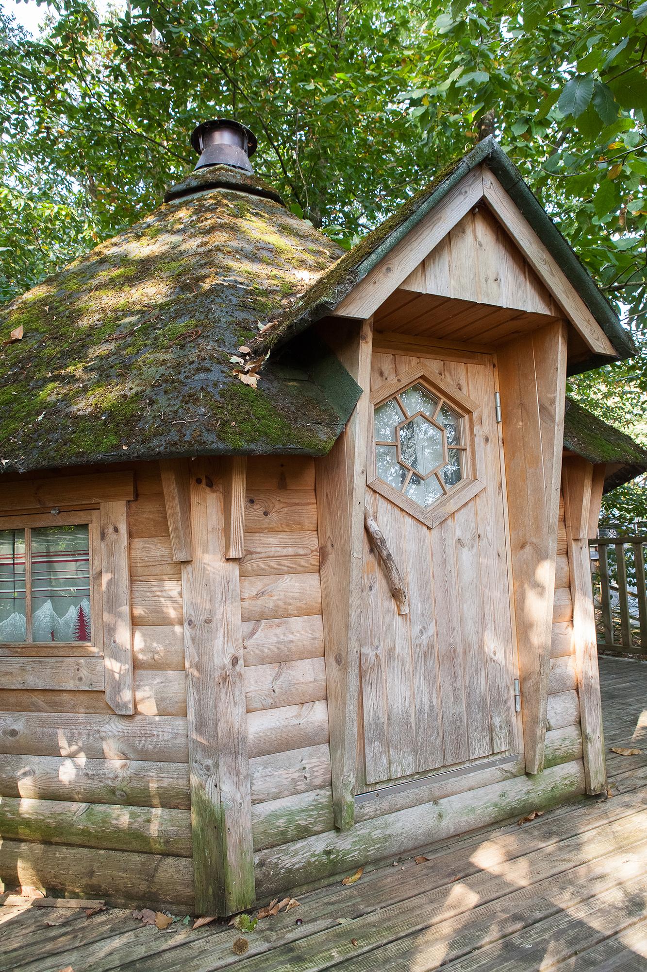 cabane dans les arbres location hebergement rennes